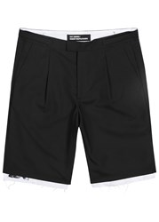 Raf Simons Black Wool Shorts