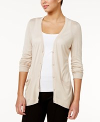G.H. Bass And Co. Pocketed Cardigan Oat