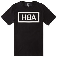 Hood By Air Dyslexic Logo Tee Black And White