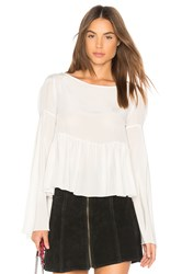 Stone_Cold_Fox Newman Blouse Ivory