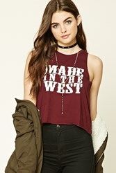 Forever 21 Made In The West Tank Top