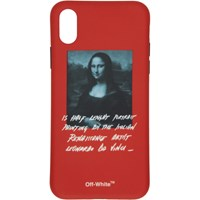 Off White Red Monalisa Iphone X Case