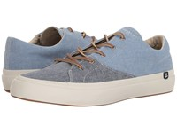 Sperry Haven Lace Up Navy Blue Shoes Multi