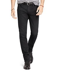 Polo Ralph Lauren Stretch Denim Slim Fit Jeans In Billings Black 100 Bloomingdale's Exclusive