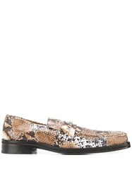 Martine Rose Square Toe Loafers 60