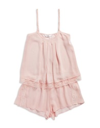 Flora By Flora Nikrooz 2 Piece Camisole And Shorts Set Blush
