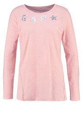Gap Long Sleeved Top Pink Dust Rose