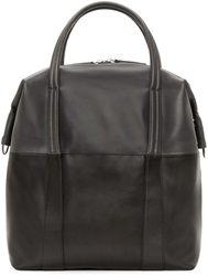 Maison Martin Margiela Grey Two Tone Leather Tote
