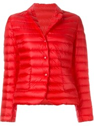 Moncler 'Leyla' Padded Jacket Red