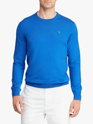 Ralph Lauren Polo Golf By Merino Wool Jumper New Iris Blue