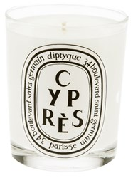 Diptyque 'Cypres' Candle White
