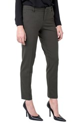 Liverpool Kelsey Knit Trousers Peat Green
