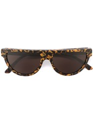 Retrosuperfuture 'Sonny Havana Materica' Sunglasses Brown