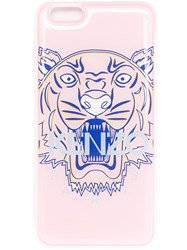 Kenzo 'Tiger' Iphone 6 Plus Case Pink And Purple