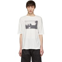 Isabel Benenato White 'Out Of Sight' T Shirt