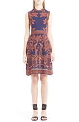 Women's Valentino Giraffe Jacquard Knit Dress