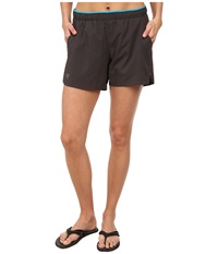 Arc'teryx Kapta Short Iron Anvil Women's Shorts Gray