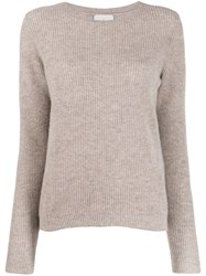 Le Kasha Dublin Cashmere Top Brown