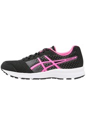 Asics Patriot 8 Neutral Running Shoes Black Hot Pink White