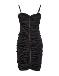 Hanita Short Dresses Black