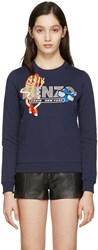 Kenzo Navy Hot Dog Pullover
