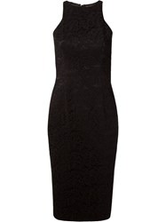 Martha Medeiros Marescot Lace Tereza Sophie Dress Black