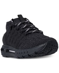 Under Armour Hovr Phantom Heather Running Sneakers From Finish Line Black Anthracite