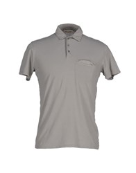 American Vintage Topwear Polo Shirts Men Grey