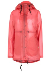 Hunter Original Pink Rubberised Raincoat