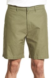 Men's Patagonia Flat Front Woven Organic Cotton And Hemp Shorts Spanish Moss