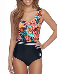 Body Glove Wonderland Printed One Piece Bodysuit Multi
