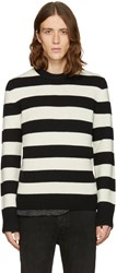 Rag And Bone Black Off White Shane Sweater