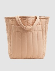 Baggu Quilted Pocket Tote In Canyon