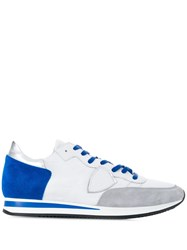 Philippe Model Panelled Sneakers White