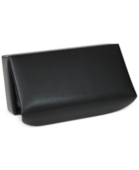 Royce Leather Luxury Suede Lined Men's Cufflinks Box Black