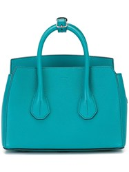 Bally Mini Tote Bag Blue