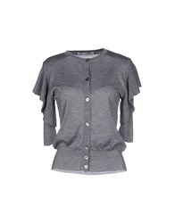 Viktor And Rolf Knitwear Cardigans Women Grey