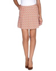 Paul And Joe Skirts Mini Skirts Women Red
