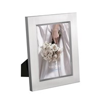 Vera Wang Wedgwood Grosgrain Silver Photo Frame 5X7