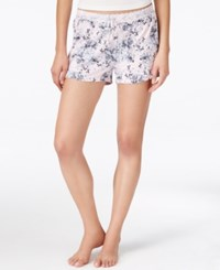 Alfani Floral Print Boxer Shorts Only At Macy's Pink Paint Petal