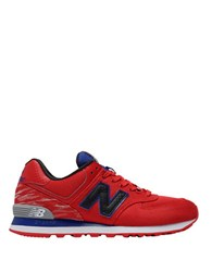 New Balance 574 Summer Waves Sneakers Red White