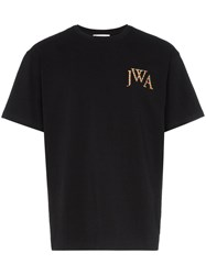 J.W.Anderson Jw Anderson Embroidered Logo T Shirt Black