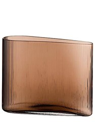 Nude Small Mist Glass Vase Brown