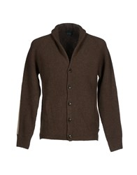 Henry Cotton's Cardigans Military Green
