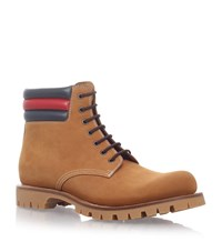 Gucci Marland Work Boots Male Tan