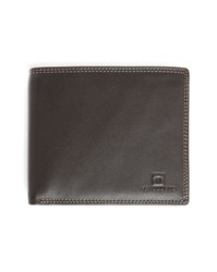 Le Tanneur Brown Leather Flap Wallet With 8 Compartments