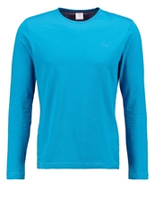 S.Oliver Slim Fit Long Sleeved Top Oriental Blue