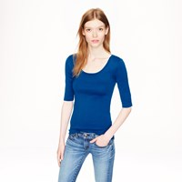 J.Crew Perfect Fit Ballet Button T Shirt