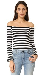 Torn By Ronny Kobo Kylie Sweater Multi Stripe
