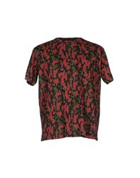 Marc By Marc Jacobs Topwear T Shirts Men Brick Red